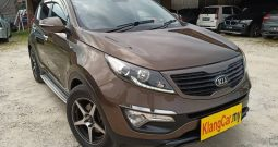 2013 Kia SPORTAGE 2.0 (A) P/START SUNROOF -TY