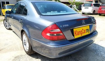 2007 Mercedes Benz E200 K AVANTGARDE 1.8 (A) -TY full